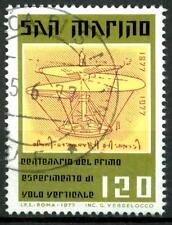 SAN MARINO - 1977 - Centenario del 1° esperimento di volo verticale