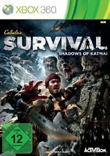 Microsoft XBOX 360 Spiel Cabela's Survival Shadows of Katmai Cabelas ****NEU*NEW