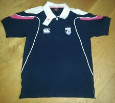 BNWT Womens Canterbury Cardiff Blues Rugby Shirt Cotton Polo UK Small
