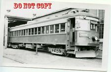 6G069 RP 1950 NIAGARA ST CATHARINES & TORONTO RAILWAY CAR #82 WELLAND SIGN ON