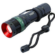 3W 625nm Red LED Flashlight with Adjustable Focus for Astronomy / Night Vision