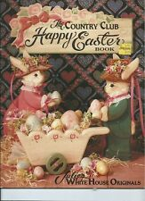 2 tole books- Julie's White House Originals - Happy Easter, Bunny Furniture Book