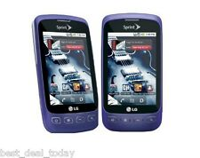 LG Optimus S LS670- Purple (Sprint) c Smartphone Cell Phone LS-670