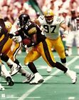 BAM MORRIS 8x10 Vintage NFL Photo PITTSBURGH STEELERS (vs Packers Matt LaBounty)