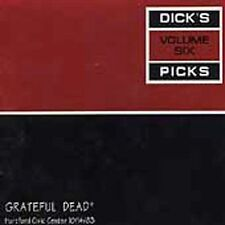 GRATEFUL DEAD, DICK'S PICKS VOL SIX (6) HARTFORD CIVIC CENTER 10/14/83, 3 CD