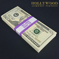 New Series 2K Stack Full Print - Quality Prop Money for Movie Prank Gift Play