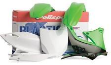New Plastic Kit Set Black Green KAWASAKI KX250F 2009–2012 Polisport 90249