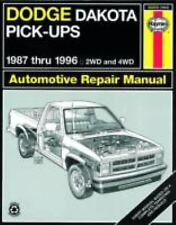 Dodge Dakota Pickup '87'96 (Haynes Manuals)