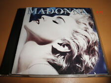 MADONNA cd TRUE BLUE hits LIVE TO TELL papa dont preach OPEN YOUR HEART bonita