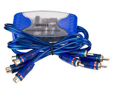 APS NC Ship Four Channel Ground Loop Isolator Audio Remove Noise Filter 4 RCA