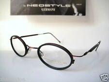 Neostyle small lens 44-23 College 147 Frames Eyeglass Glasses black Round Mens