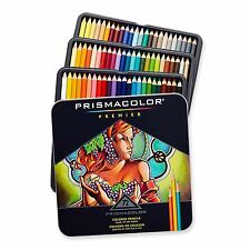 Prismacolor Premier Soft Core Colored Pencil Set of 72 Assorted TIN  NEW SEALED