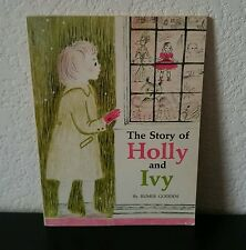 Vintage Children's Book The Story of Holly and Ivy Rumer Godden 1958 11th Print
