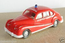 MICRO WIKING HO 1/87 BMW 501 FEUERWEHR POMPIERS FIRE BOMBEIROS bis