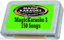 BRAND NEW MAGIC SING Karaoke MIC POPROCK  Chip SONGLIST
