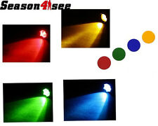 SolarForce L2-CF Red Green Blue Orange Filters Set for L2 Series Flashlights