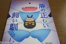 """Doujinshi POKEMON Sylveon X Pignite """"Buta no tadashii kainarashi kata"""" A5 20page"""