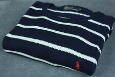 POLO BY RALPH LAUREN Men's Crew Neck Cotton Sweater / Jumper [SIZE X LARGE]