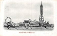 POSTCARD    BLACKPOOL   From  the  North  Pier