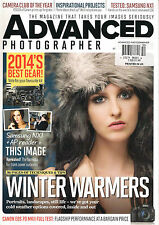 ADVANCED PHOTOGRAPHER UK 52 2014 Best Photography Gear Winter Weather Tips NEW