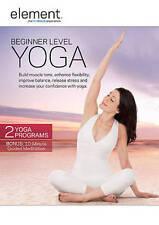 Element: Beginner Level Yoga (DVD, 2015)