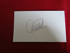 Gary CHARLES  Nottingham Forest  1980's  Original Hand Signed  FOOTBALL Card