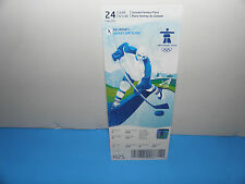 Vancouver 2010 Winter Olympics Mens Hockey USA vs Swiss Full Game Ticket