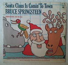"Bruce Springsteen Santa Claus Is Comin' To Town Single 7"" USA Promo"