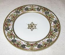 Antique/Vintage Decorative Hand Painted Nippon China Dish Gold Trim -  8 1/2""