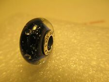 Authentic Sterling Silver 925 Midnight Effervescence Pandora Murano Bead Charm