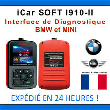 Valise Diagnostique BMW & MINI - iCar SOFT I910-II - INPA K+DCAN DIS ICOM