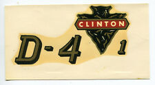 Clinton Engine Chainsaw D-4-1 Decal NOS