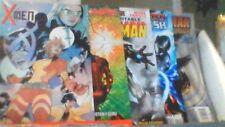 1 Box Lot of 50 Old Comics Marvel and DC , Batman, Spider-Man, X-Men Etc.