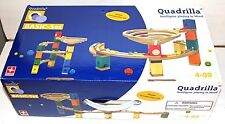 Hape Quadrilla Basic Set - Round About - Marble Railway in Wood (-1 small ramp)
