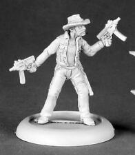 Stillwater, Zombie Hunter Miniature by Reaper Miniatures RPR 50174