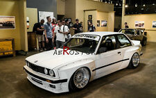 FRP ROCKET BUNNY PANDEM STYLE FRONT OVER FENDER +50MM FOR 84-91 E30 2D COUPE