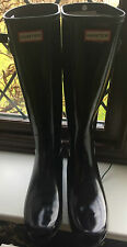 HUNTER WELLIES - BLACK - UK SIZE 8 - NEW!!!