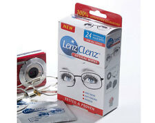 Lenz Cleaning Wipes Glasses Spectacles Specs Vision Lenses Optical Clear View