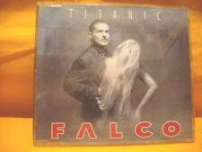 MAXI Single CD FALCO Titanic 2TR 1992 synth pop