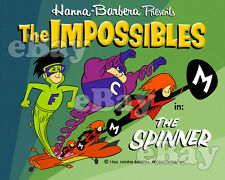 EXTRA LARGE! IMPOSSIBLES Poster Print HANNA BARBERA Main Title FRANKENSTEIN JR