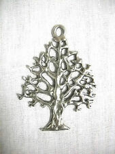 NEW RUSTIC OUTDOORS NATURE TREE OF LIFE PEWTER PENDANT ON ADJ CORD NECKLACE