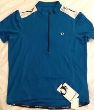 New Pearl Izumi Quest MENS Short Sleeve Cycling Jersey Size L Bike Bicycle MTB