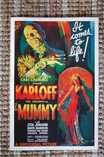The Mummy Lobby Card Movie Poster Karloff Zita Johann