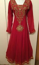 Ladies BRAND NEW Long Dress Gown Wedding/party/prom/bridesmaids Embroidery