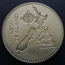 1905 New Zealand Retro Pattern Proof Crown Nickel Silver  Edward VII Coin