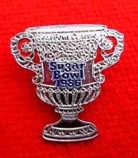 1986 Sugar Bowl Trophy - Shaped Lapel Pin gmu1