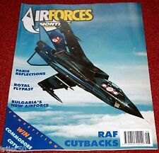 Air Forces Monthly 1991 August Bulgaria,F4 Phantom,Shackleton,CT-133,Yeovilton