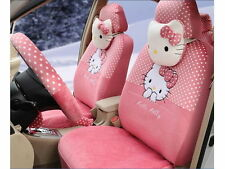 # Best Gift ONSALE # Hello Kitty Car Seat Covers Accessories Set 18PCS TL-039L