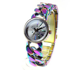 Diesel Womens DZ5468 Analog Display multi colour Quartz Watch NEW