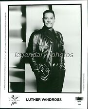 Luther Vandross   Epic Original Music Press Photo
